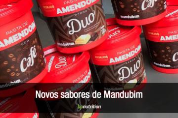 Conheça os novos sabores da pasta de amendoim Mandubim.