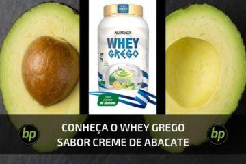Novo Whey Grego Nutrata Abacate