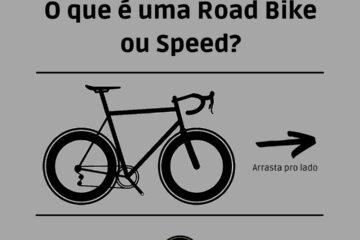 O que é uma road bike