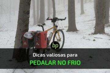 dicas pedalar no frio