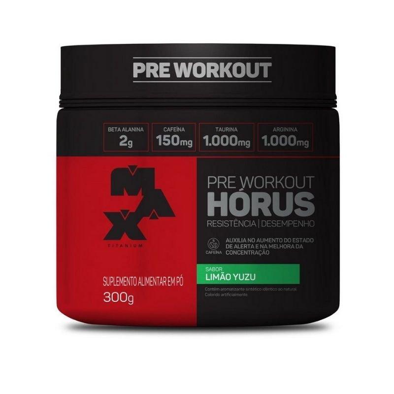 Hórus Pré Workout Max titanium