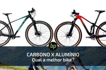 carbono ou aluminio qual melhor bike