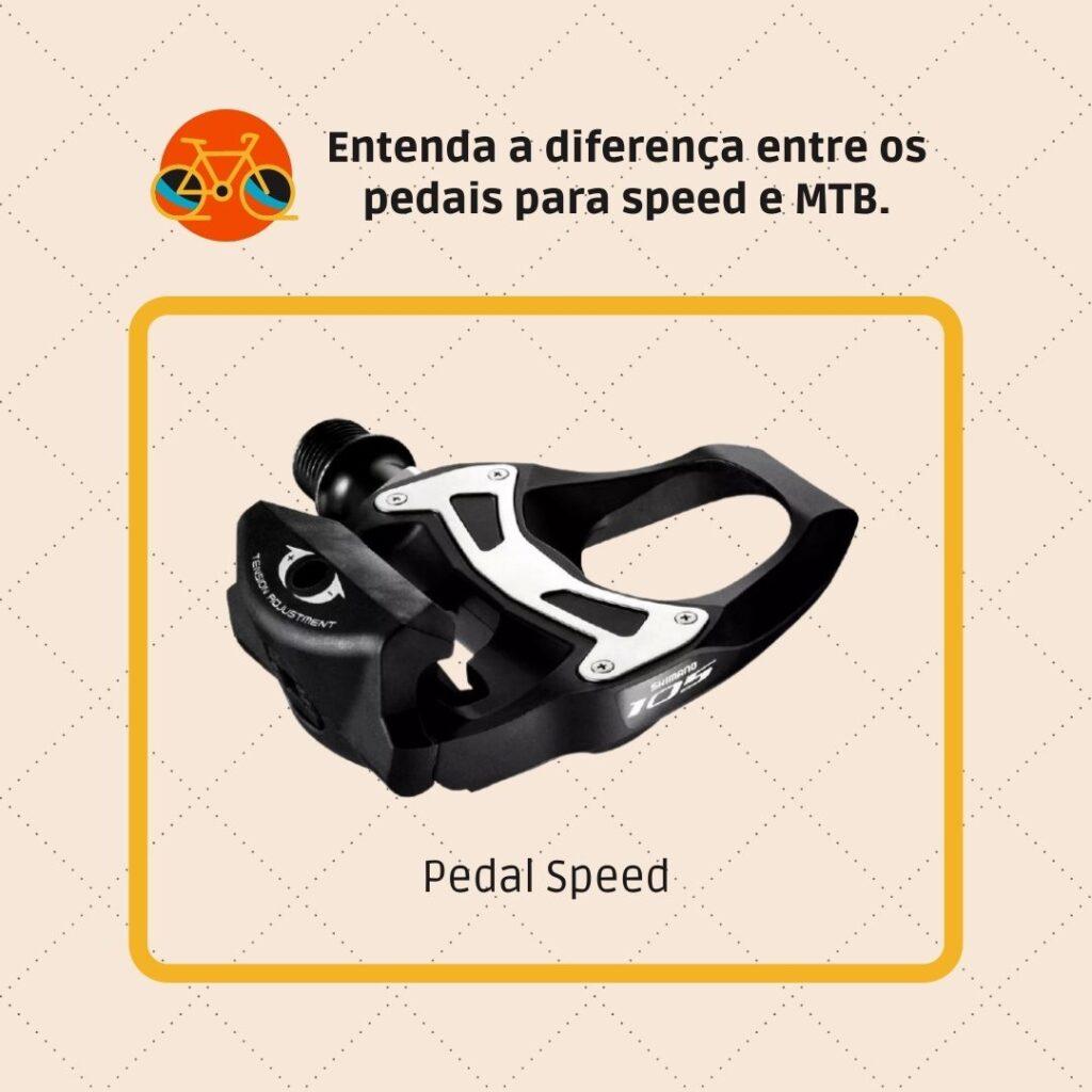 Pedal para road bike